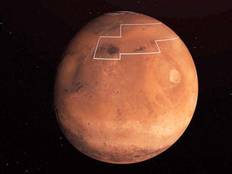 Sur Mars, la Nasa a trouvé de la glace facilement accessible pour les astronautes