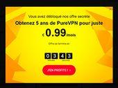 Bon plan : débloquez l'offre secrète PureVPN à 0,99€/mois