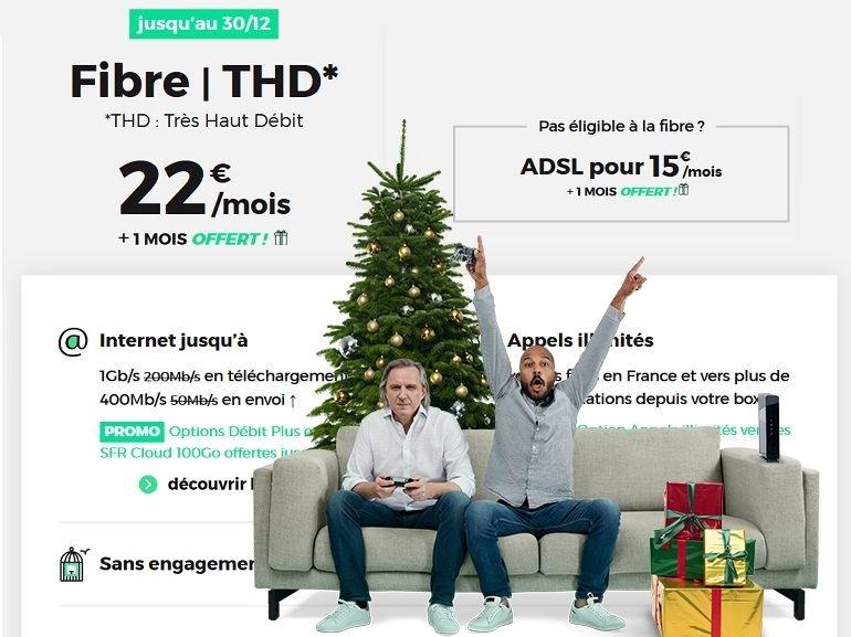 RED by SFR : les promos forfait mobile et box Internet du week-end