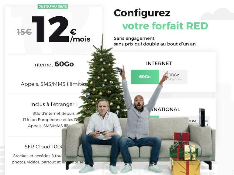 RED by SFR : les bons plans forfait mobile et box Internet Fibre de la semaine