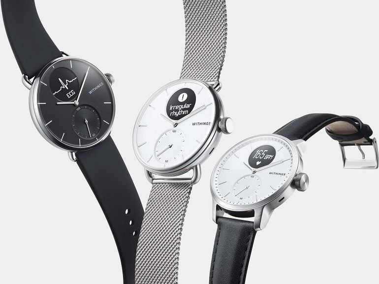 CES 2020 : Withings présente la ScanWatch, une montre connectée capable de détecter l'apnée du sommeil