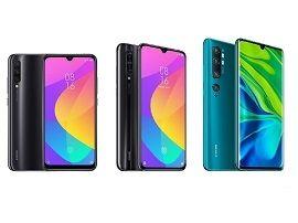 Xiaomi Mi A3, Mi 9 Lite ou Mi Note 10 : lequel acheter ?