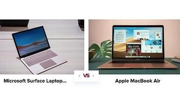 Microsoft Surface Laptop 3 vs. Apple MacBook Air : le match des ultraportables 13 pouces