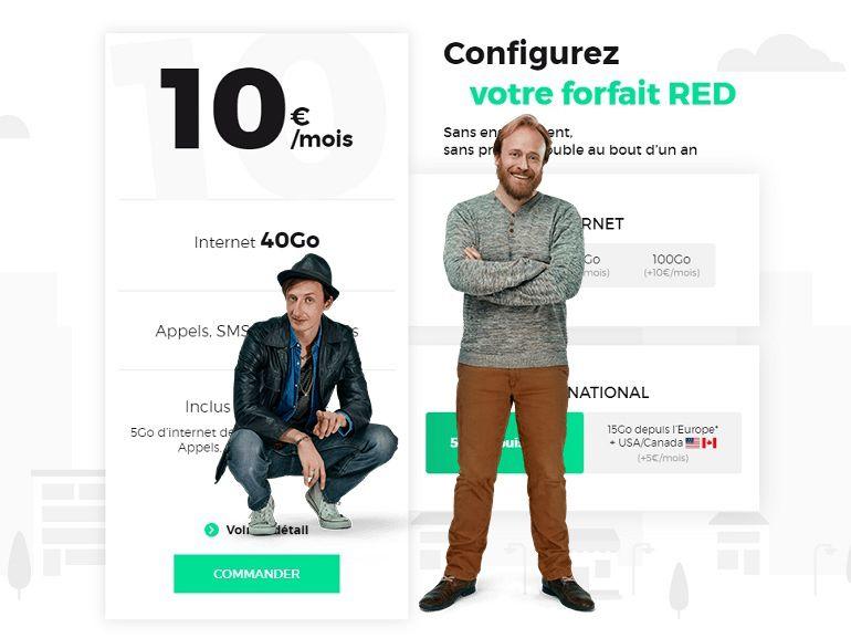 RED by SFR : les bons plans forfaits mobile et fixe à ne pas rater en ce moment