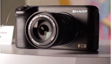 Sharp dévoile une caméra 8K