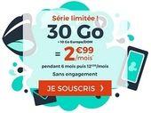 Forfait mobile : que vaut l'offre Cdiscount Mobile 30 Go + 10 Go Europe/DOM à 2,99 € ?