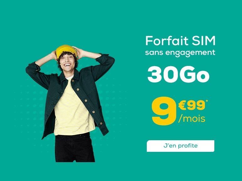 Forfait mobile à 10 euros : que vaut l'offre 30 Go de La Poste Mobile ?