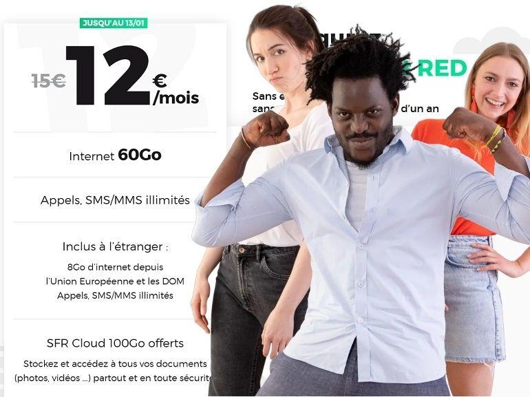 RED by SFR : le meilleur des forfaits mobiles et box Internet de la semaine