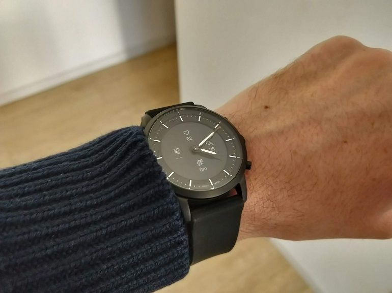 Test de la Fossil Hybride HR : une montre connectée astucieuse, mais incomplète