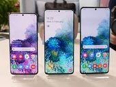 Prise en main des Samsung Galaxy S20 : la folie des grandeurs