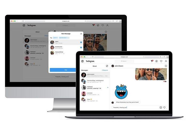 Instagram teste (enfin) une messagerie web sur ordinateur