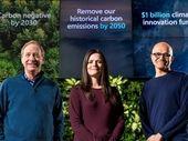 Microsoft compte totalement effacer son empreinte carbone d'ici 2050