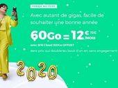 Forfait mobile : RED by SFR prolonge son forfait 60 Go à 12 euros