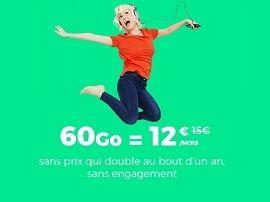 Surprise ! RED by SFR prolonge son forfait 60 Go à 12€ (et c'est toujours un bon plan)