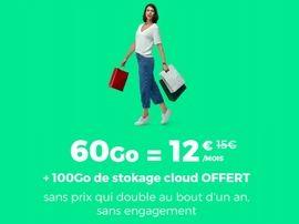 RED by SFR prolonge (encore) son forfait mobile 60 Go à 12€, et c'est toujours un bon plan