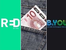 RED ou B&You : quel forfait mobile à 12 euros choisir cette semaine ?