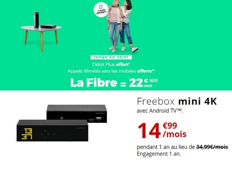 Bon plan forfait fibre : qui de RED ou de Free propose la meilleure box internet en promo ?