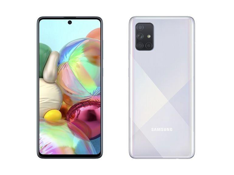 Samsung officialise les Galaxy A51 et A71 avec quatre capteurs photo