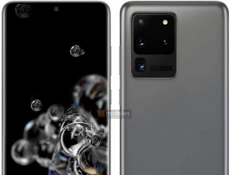 Galaxy S20, S20+, S20 Ultra : images et prix officiels auraient fuité avant l'heure