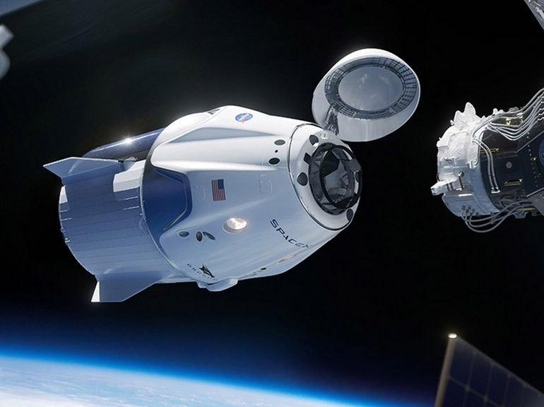 SpaceX se lance dans le tourisme spatial avec sa capsule Crew Dragon