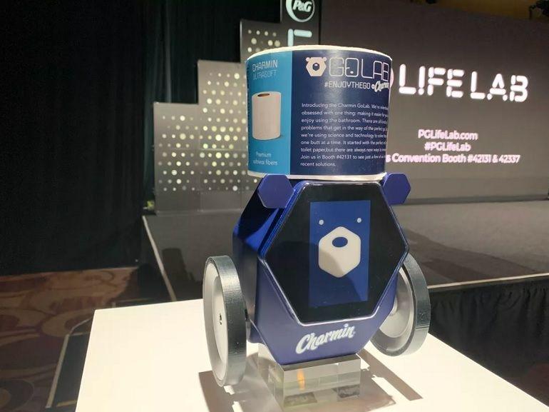 CES 2020 : cap sur les WC avec un robot livreur de papier toilette et un capteur de mauvaises odeurs