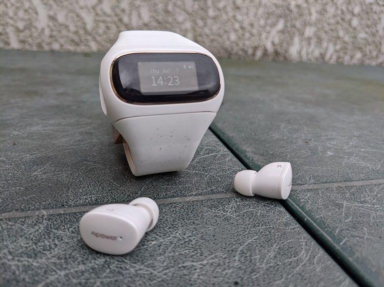 Test - Wearbuds Aipower, de bons écouteurs True Wireless ne font pas une bonne montre connectée