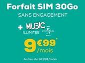 Forfait mobile : à moins de 10€, l'offre 30 Go de La Poste Mobile demeure la meilleure