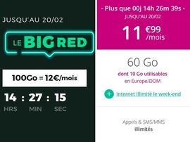 """Forfait mobile : RED by SFR ou B&You, quelle offre """"immanquable"""" choisir avant ce soir ?"""