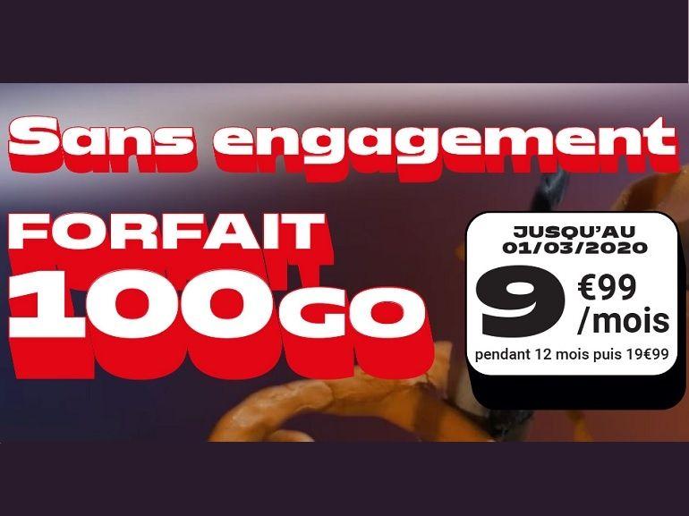Que vaut le forfait NRJ Mobile 100 Go à 9,99€ ?
