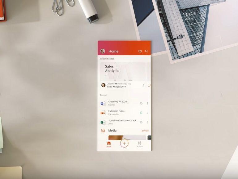 La nouvelle application Office est disponible en version finale sur Android, elle regroupe Word, Excel et PowerPoint