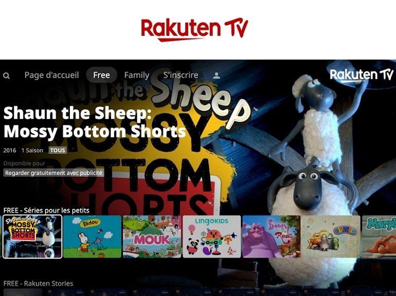 Rakuten TV étoffe son offre AVoD : des dessins animés gratuits et de la réclame au programme