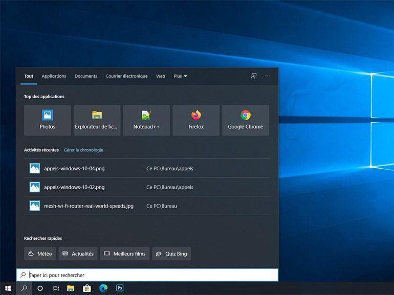 Windows 10 : Microsoft corrige le bug de la fonction recherche