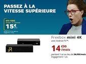 SFR Starter ou Freebox mini 4K de Free : le match des forfaits internet fibre à moins de 15 euros
