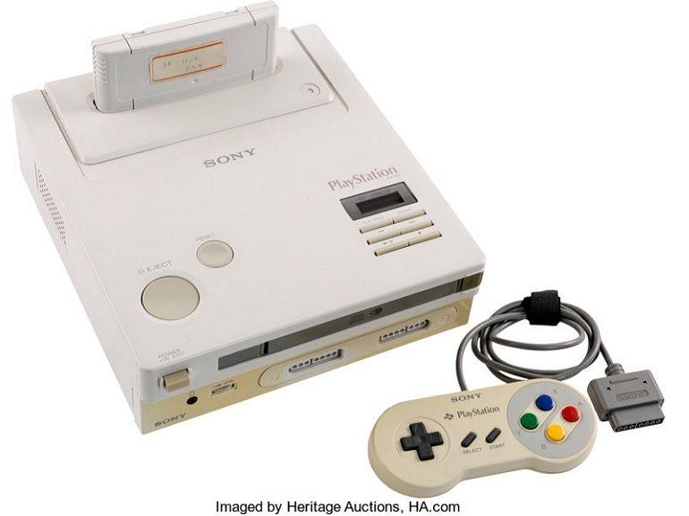 Le saviez vous : la Nintendo PlayStation existe et elle est en vente aux enchères