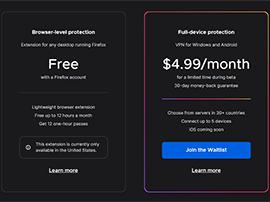 Mozilla lance un vrai VPN Firefox Private Network en complément de son extension