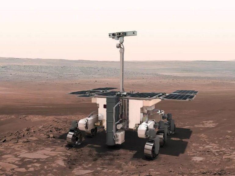 Mission ExoMars : le lancement du rover Rosalind-Franklin repoussé à 2022
