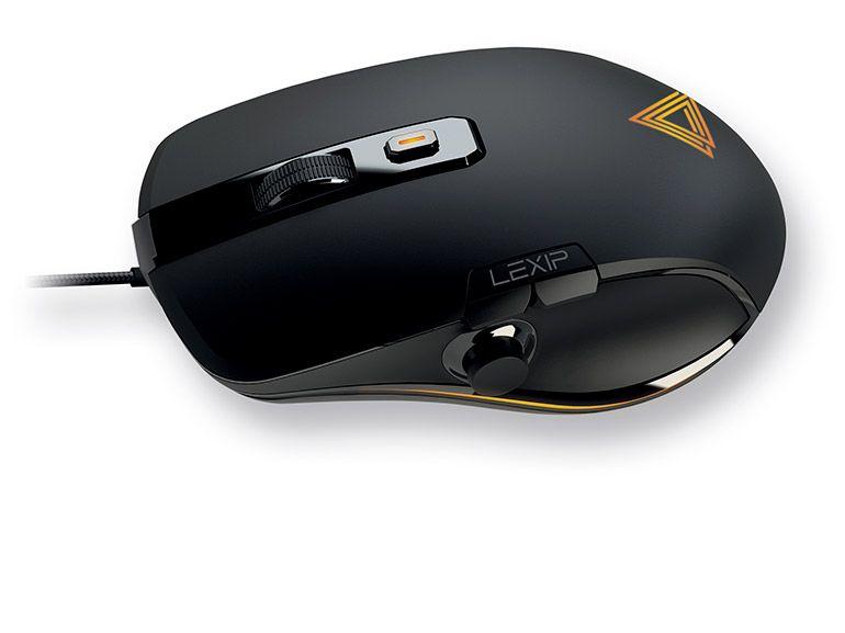 Lexip Np93 ALPHA : test de la souris gamer française avec joystick