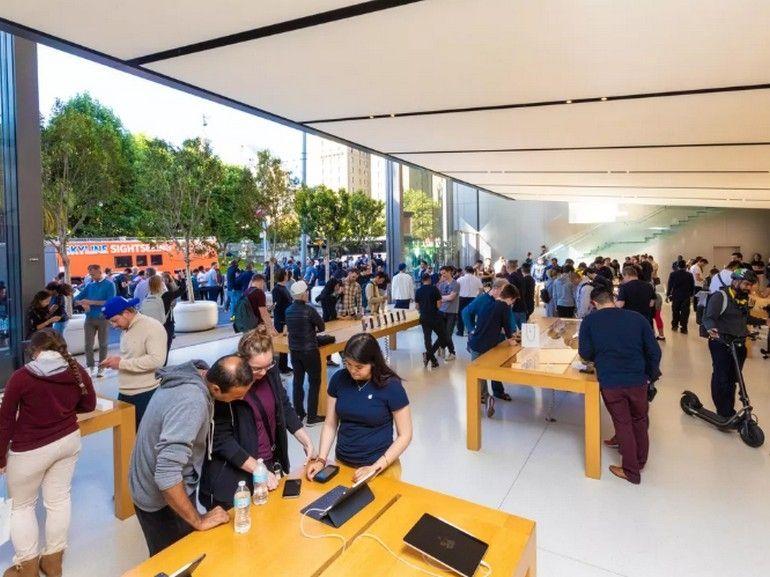 Apple ferme toutes ses boutiques à travers le monde jusqu'au 27 mars, sauf en Chine