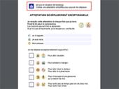 Attestation de déplacement facile à lire et autres versions adaptées par les associations