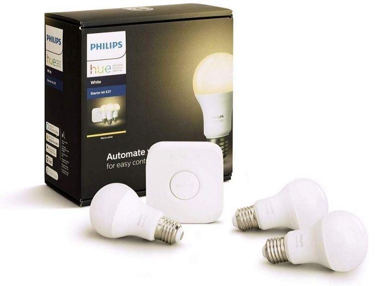 Bon plan : Philips HUE 3 ampoules + pont de connexion à 64,64€ sur Amazon [-28%]
