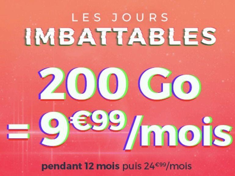 Ce forfait mobile 200 Go à 10€ peut-il remplacer une box ADSL ?