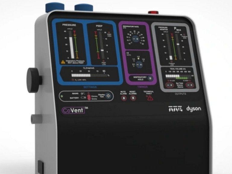Dyson a inventé un respirateur artificiel pour les malades du Covid-19 en seulement 10 jours