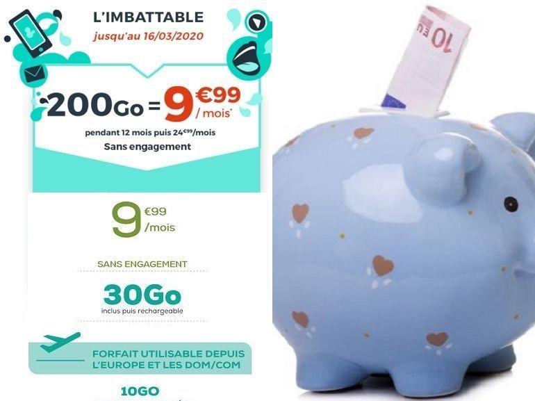 Forfait mobile  : quelle est la meilleure offre à 10 euros cette semaine ?