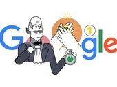 Google Doodle rend hommage au pionnier du lavage des mains, le Dr Ignace Philippe Semmelweis