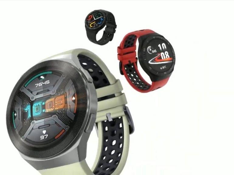 Avec la Watch GT 2e, Huawei mise sur le sport et la santé à petit prix