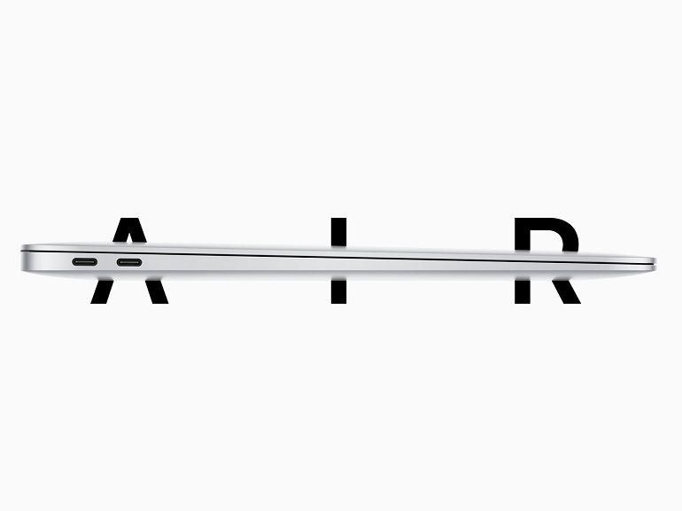 Apple annonce un nouveau MacBook Air et abandonne le clavier papillon