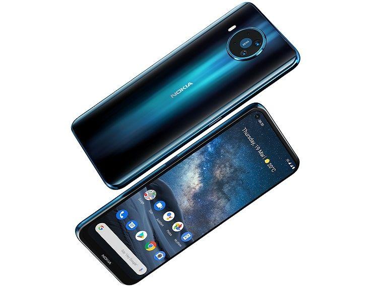 HMD officialise les Nokia 8.3 5G, 5.3 et 1.3 : trois smartphones pour trois budgets