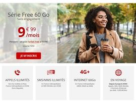 Free Mobile relance son forfait mobile 60 Go à 9,99€