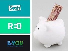 Sosh, RED by SFR ou B&You : on refait le match du meilleur forfait à 15 euros