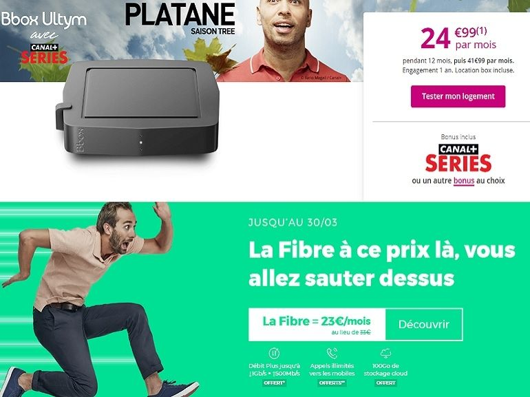 Bon plan internet : RED ou Bouygues Telecom, qui propose la meilleure box fibre ?